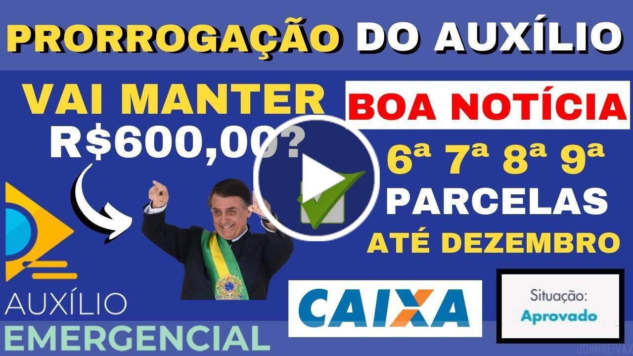 BOA NOTÍCIA! Auxílio Emergencial Manterá R$600,00 Até Dezembro? | Deputados Votaram Contra a Redução